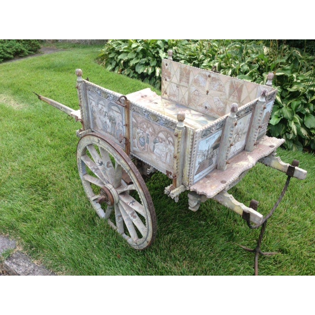 19th-Century Sicilian Goat Cart For Sale - Image 7 of 9