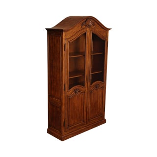 French Country Style Quality 2 Door Armoire Cabinet For Sale