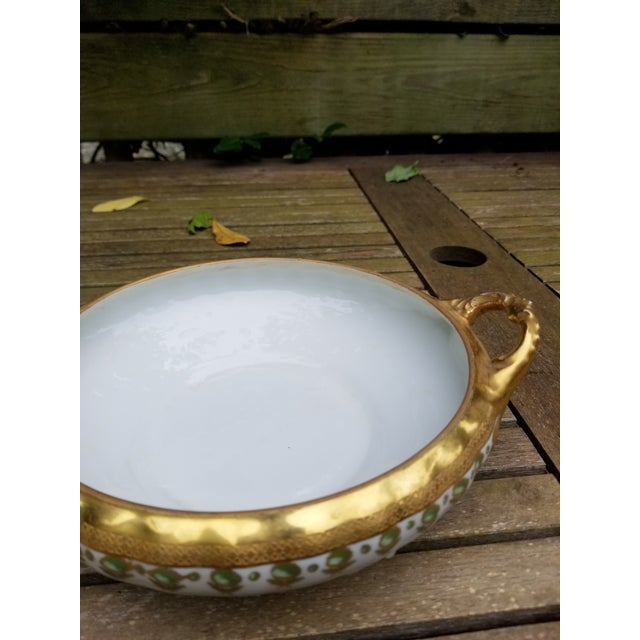 Antique Limoges Elite Serving Bowl With Handles For Sale In New York - Image 6 of 10