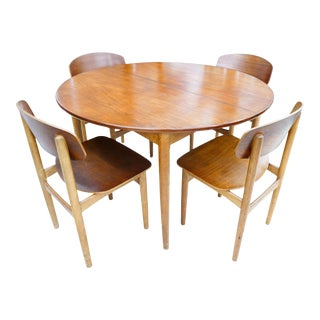 Vintage Børge Mogensen Dining Set for Soberg Mobelfabrik For Sale