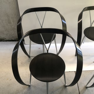 1990s Vintage Andrea Branzi for Cassina Chairs- Set of 4 Preview