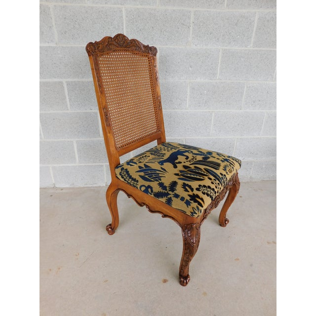 Lineage Furnishing Louis XV Style Dining Side Chairs - Set of 4 For Sale In Philadelphia - Image 6 of 12