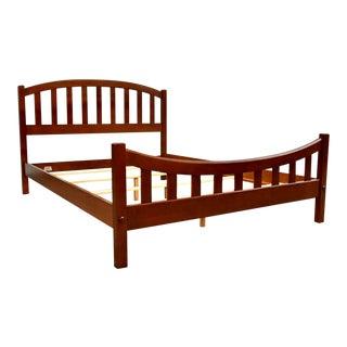 Ethan Allen Cherry Queen Bed For Sale