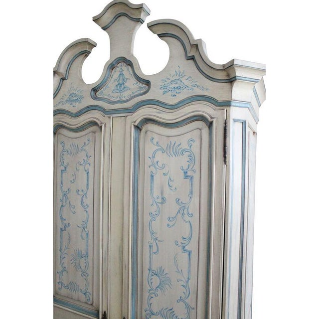 Karges Chinoiserie Wardrobe - Image 4 of 5