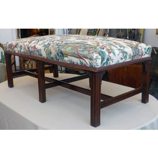 Early 20th Century Vintage Chippendale Window Bench Preview