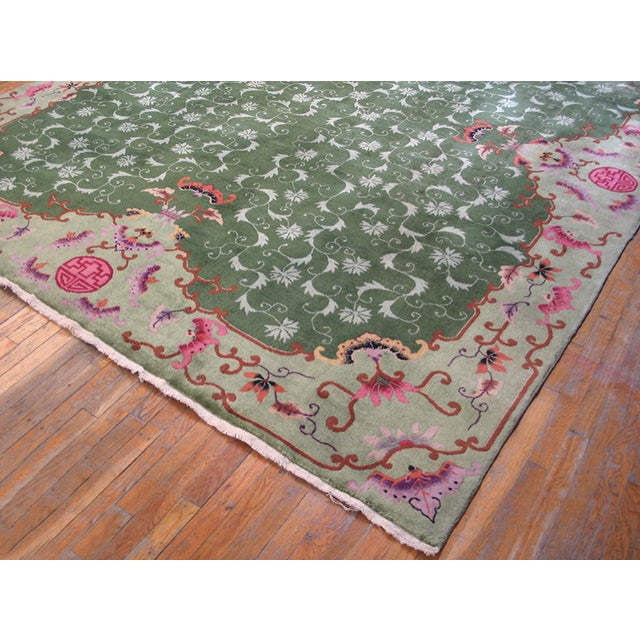 Art Deco Antique Chinese Art Deco Rug For Sale - Image 3 of 9