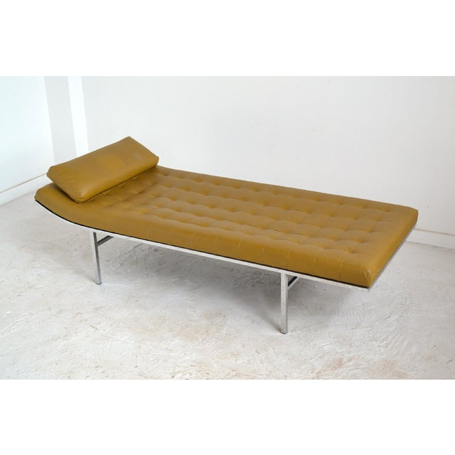 Jules Heumann Chaise by Metropolitan For Sale - Image 9 of 11