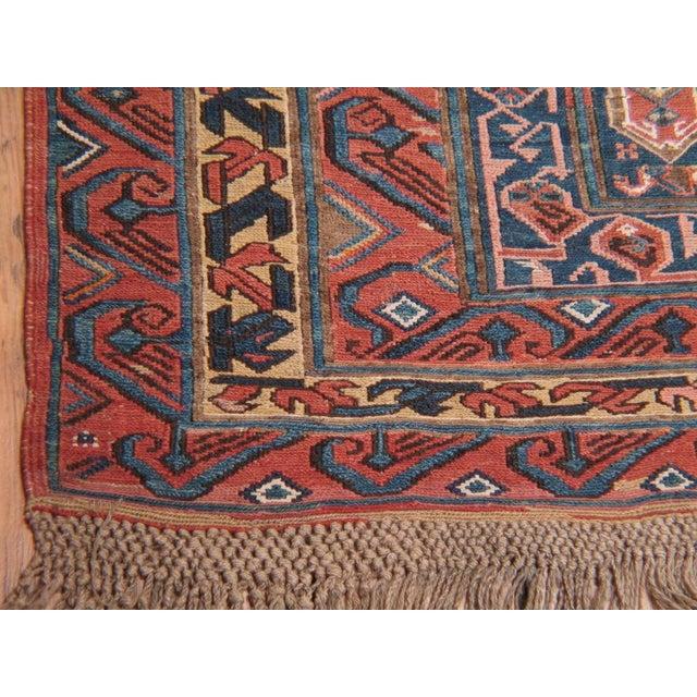 Antique Sumak Runner For Sale - Image 4 of 7