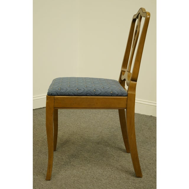 Late 20th Century Vintage Drexel Heritage Country French Regency Side Chair For Sale In Kansas City - Image 6 of 11
