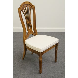 Late 20th Century Vintage Thomasville Serenade Balloon Back Side Chair Preview