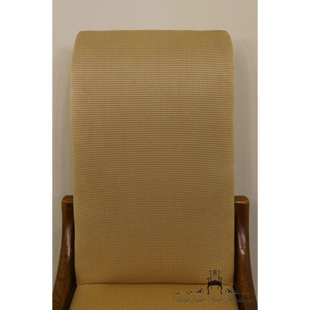 Late 20th Century Henredon Mid-Century Modern Solid Walnut Dining / Side Chair For Sale - Image 5 of 13