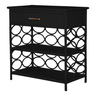 Infinity End Table - Black For Sale