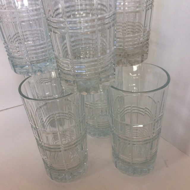 Crystal Waterford Marquis Crosby Hi-Ball Glasses - Set of 8 For Sale - Image 7 of 11
