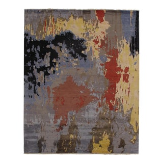 "Modern Pasargad N Y Wool & Bamboo Silk Hand Knotted Area Rug - 8'2"" X 10'1"" For Sale"