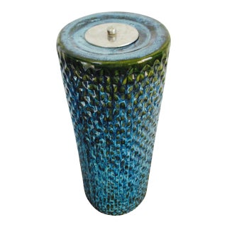 Bitossi Raymor Tall Pottery Ashtray / Floor Vase For Sale