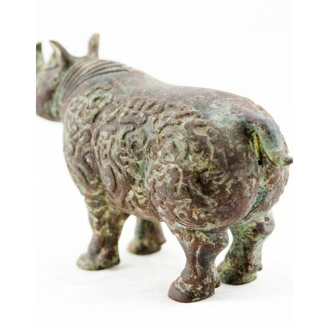 Lawrence and Scott, Inc Lawrence & Scott Rhinoceros For Sale - Image 4 of 6