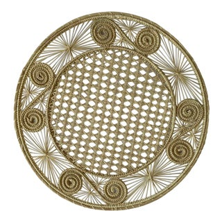 Iraca Palm Placemats / Chargers- a Pair