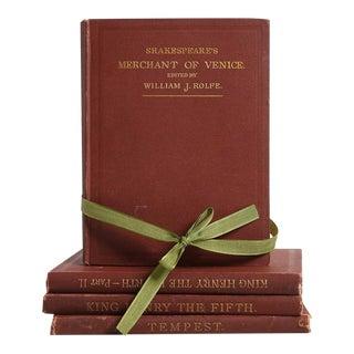 Vintage Book Gift Set: Pocket-Sized Shakespeare - Set of 4