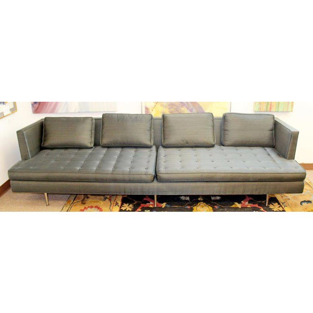 Mid-Century Modern Style Pair Wormley for Dunbar Chamberlain Model 4907a Sofas For Sale In Detroit - Image 6 of 11