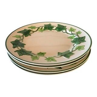 Franciscan Green Ivy Dinner Plates - Set/4