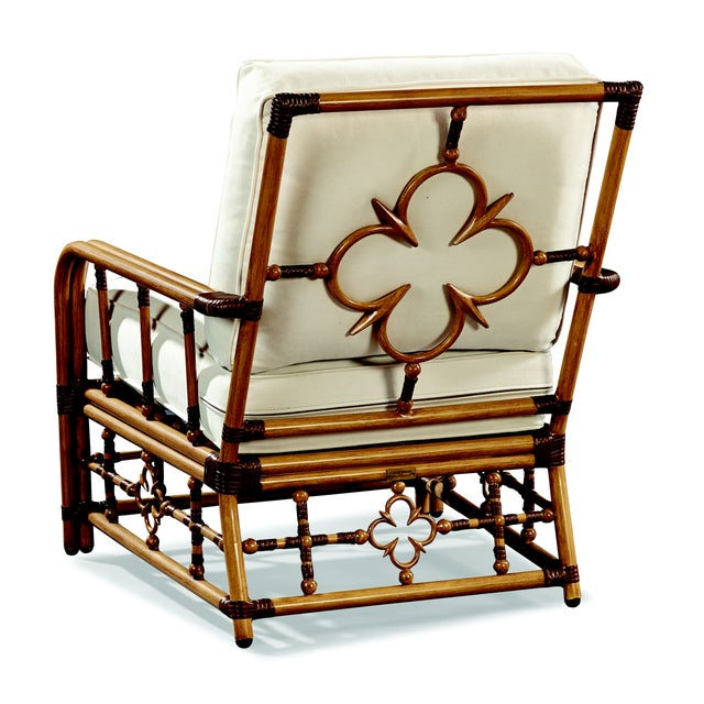 Inspired by vintage Palm Beach,our Mimi lounge chair by Celerie Kemble is eloquent with details that are flirtatious,...