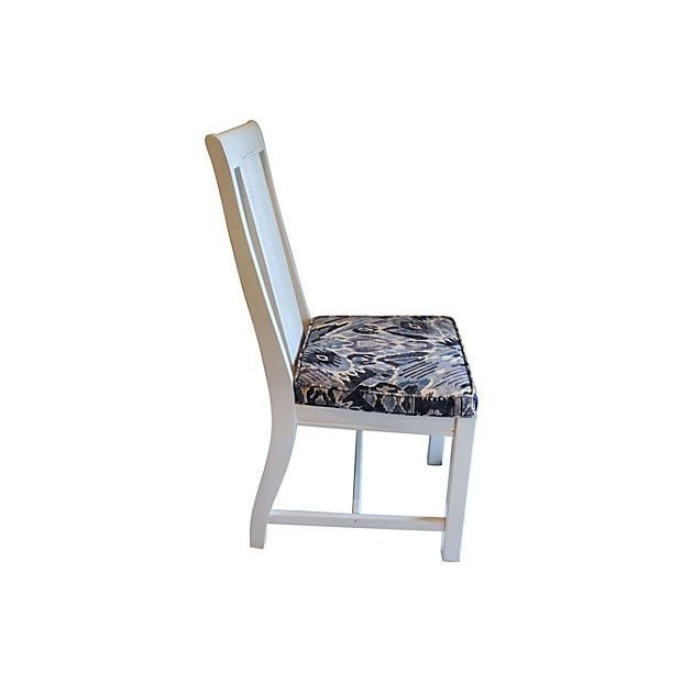 Cane Back Dining Chairs - Set of 4 - Image 3 of 7