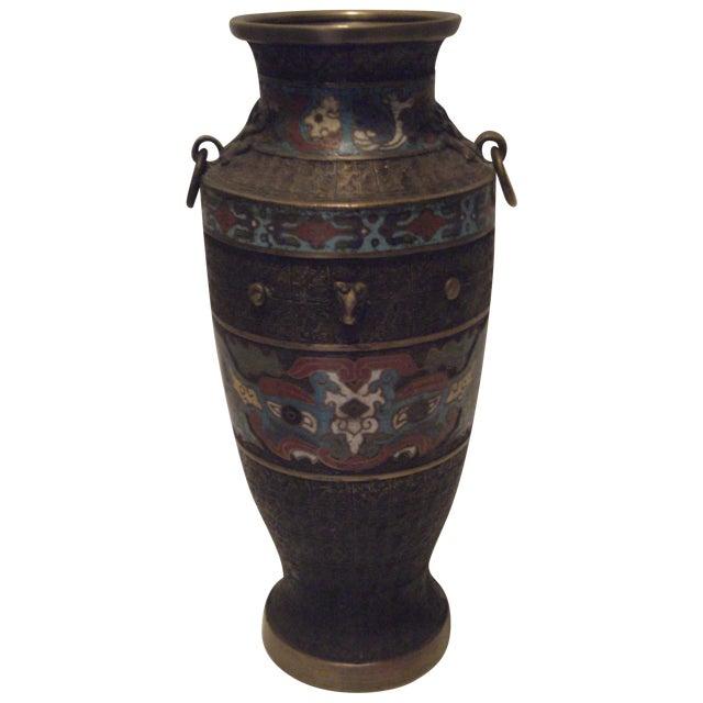 Large Antique Champleve Urn - Image 1 of 11