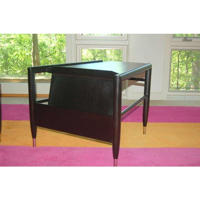 Brown Saltman John Keal for Brown Saltman Wedge Side Tables For Sale - Image 4 of 10