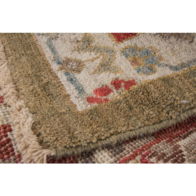 "Wool Sultanabad Rug - 8' x 10'3"" For Sale - Image 9 of 9"
