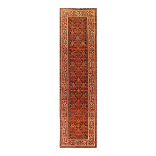 Rust Antique Malayer Runner 3'.3'' X 13'.2'' For Sale