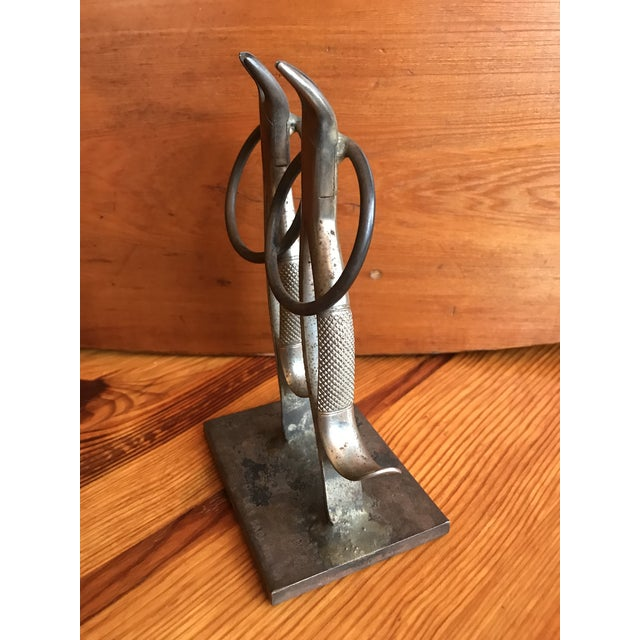French French Folk Art Dancing Pliers Sculpture For Sale - Image 3 of 11