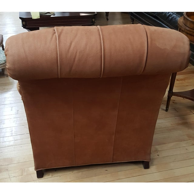 Hickory Chair St James Tufted Lounge Chair Chairish