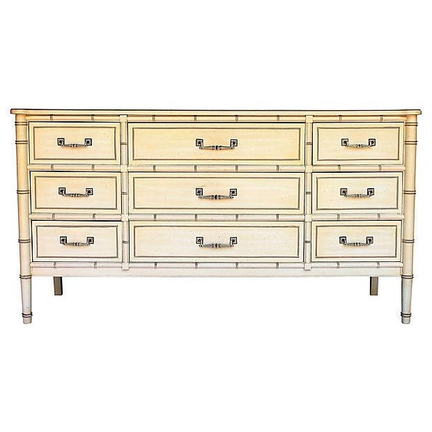 Henry Link Bamboo-Style Dresser - Image 2 of 10