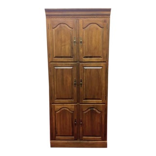 Ethan Allen Maple Cabinet For Sale