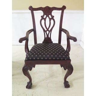 Councill Craftsmen Clawfoot Mahogany Dining Chairs - Set of 6 Preview