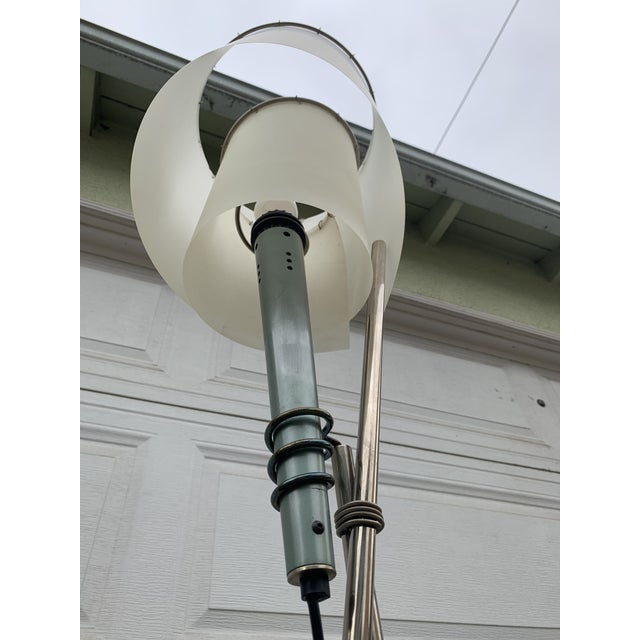 Memphis Spiral Torch Lamp For Sale - Image 10 of 11