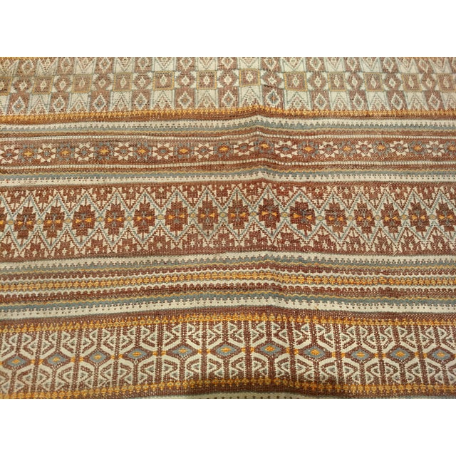 Vintage Uzbek Kilim Rug - 3′7″ × 6′7″ For Sale In Chicago - Image 6 of 10