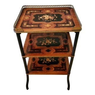 19th Century Parisian Napoleon III Second Empire French Side Table For Sale