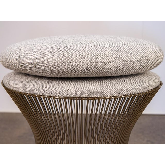 Knoll Warren Platner Wire Stool for Knoll For Sale - Image 4 of 10