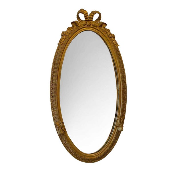 Louis XVI Carved Giltwood Mirror For Sale - Image 10 of 10