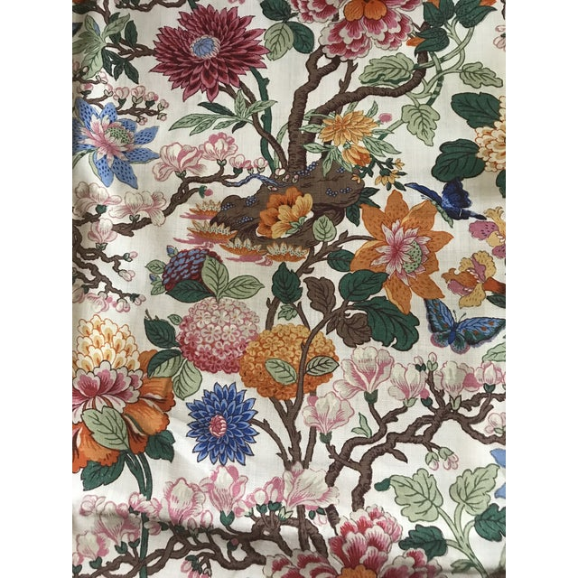G P & J Baker Magnolia Colorful Linen Fabric - 10 Yards For Sale - Image 11 of 11