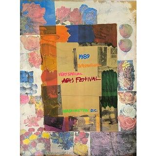 Robert Rauschenberg International Very Special Arts Festival 1989 For Sale