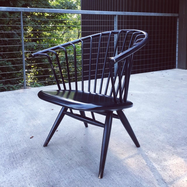 Modern Early Crinolette Chair by Tapiovaara for Asko of Finland For Sale - Image 3 of 13