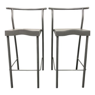 Kartell Philippe Starck Hi-Glob Stools- a Pair For Sale