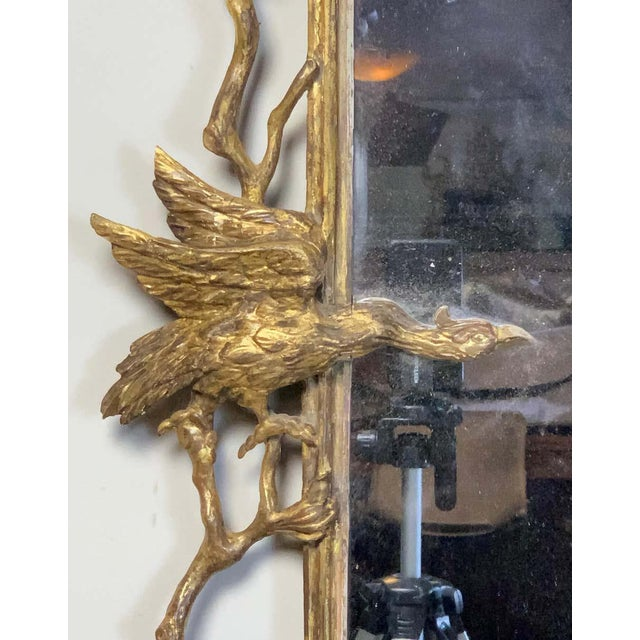 Mid 18th Century George II Chinese Chippendale Wall Mirror For Sale - Image 5 of 13