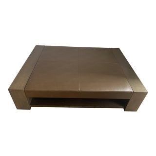 Contemporary Holly Hunt Bahia Coffee Table For Sale