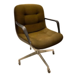 1970s Mid Century Steelcase Pollock Office Chair For Sale
