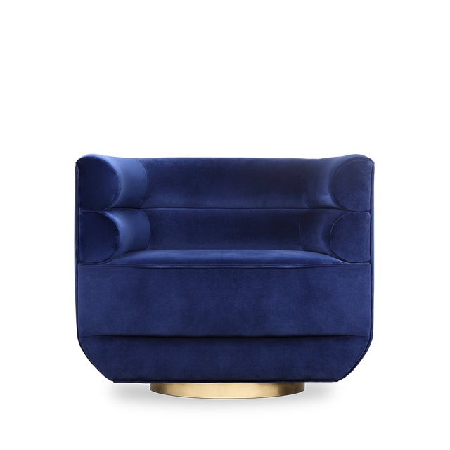 Loren Armchair From Covet Paris For Sale - Image 4 of 6
