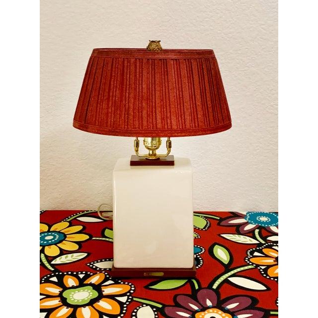 Ceramic Ralph Lauren Desk Lamp For Sale - Image 7 of 7