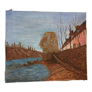 Original Dutch Inspired Painting